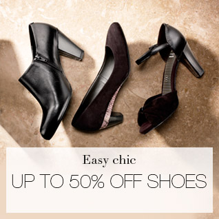 easy chic - UP TO 50% OFF SHOES