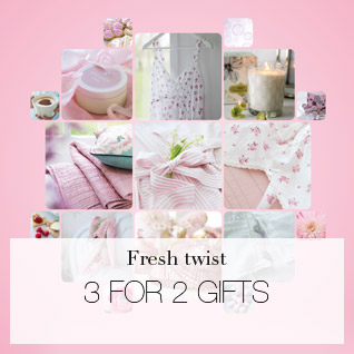 Fresh twist - 3 for 2 gifts