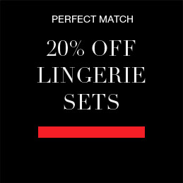 A further 20% off lingerie sets