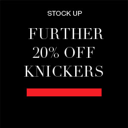 A further 20% off knickers