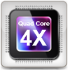 Quad-core power