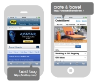 mobile commerce sites