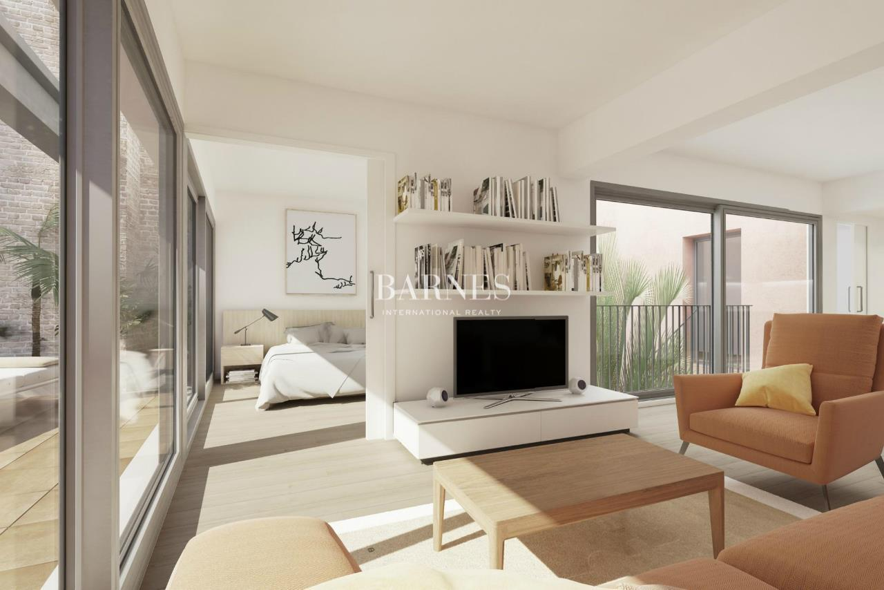 New Construction Flats With Garden And Pool In Sant Antoni Luxury Homes For Sale Barcelona