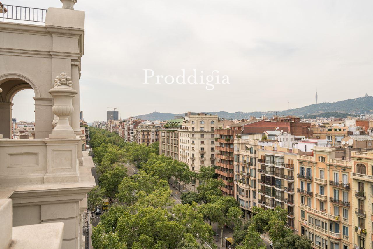 Majestuoso ático con terraza en Passeig de Sant Joan