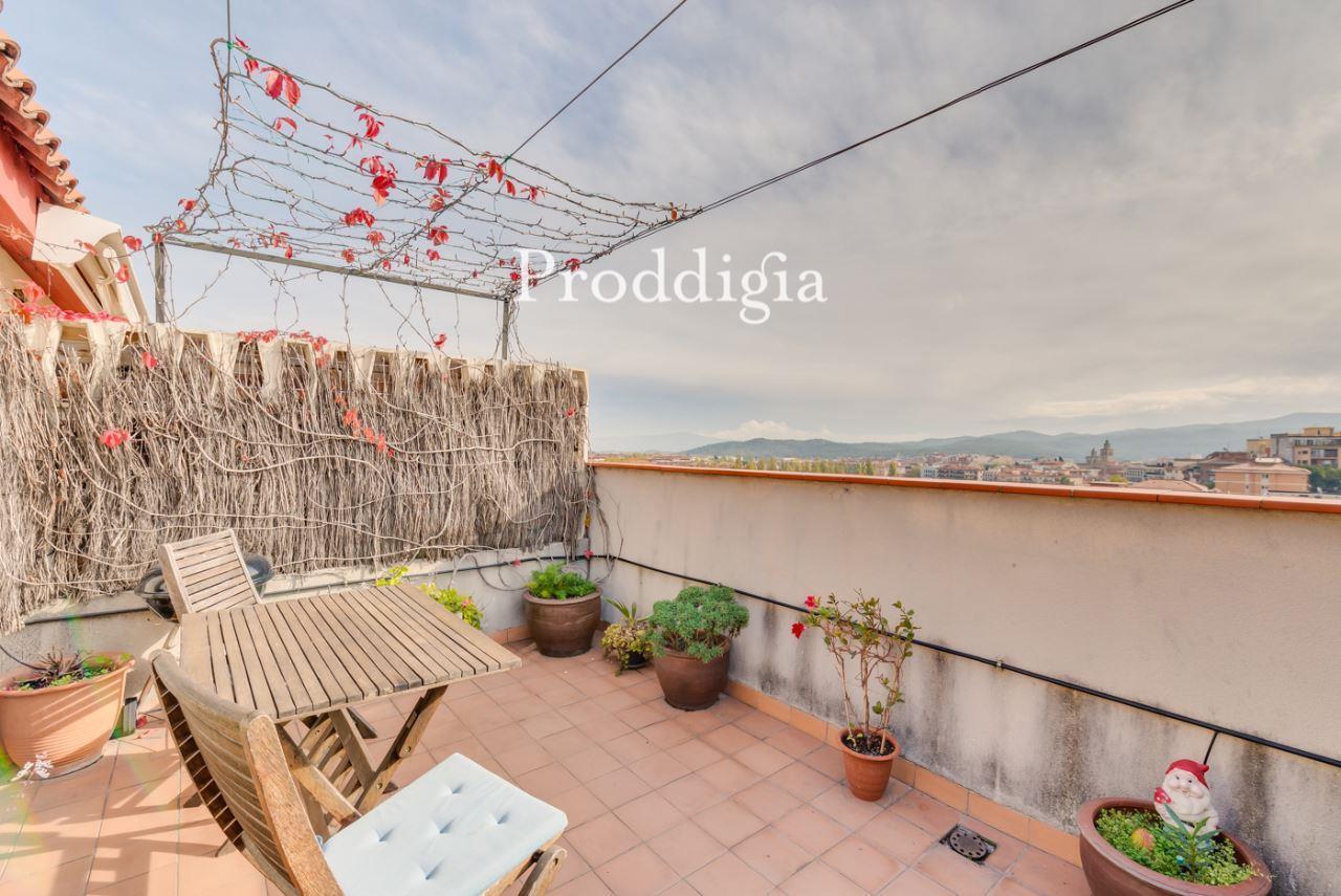 Ático dúplex con terraza en Sant Domènec