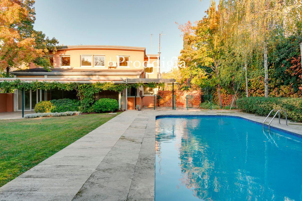 Espectacular unifamiliar con piscina en Valldoreix
