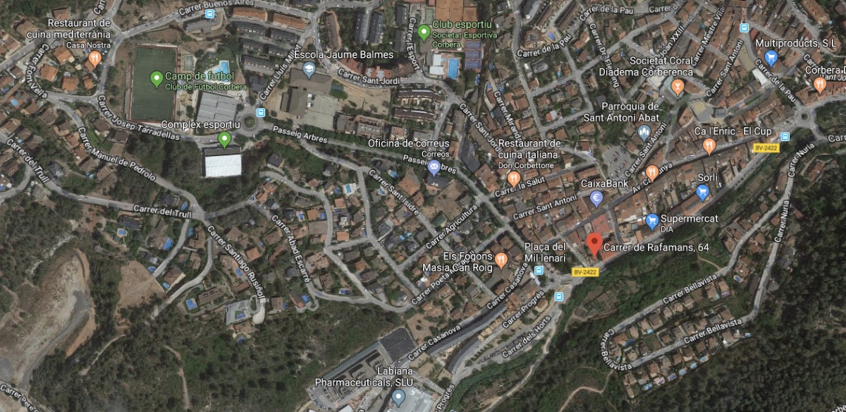 "Annonce immobilière à CORBERA DE LLOBREGAT ""  CORBERA DE LLOBREGAT"""