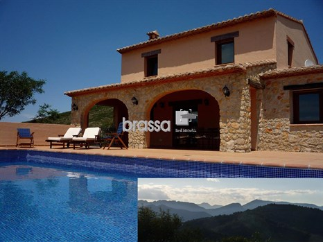 Chalet Independiente en venta  en Benissa, Alicante . Ref: 1607. Brassa Real Estate, S.L.