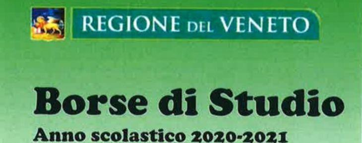 """CONTRIBUTO REGIONALE """"BORSE DI STUDIO-IO STUDIO"""" A.SC. 2020/2021"""