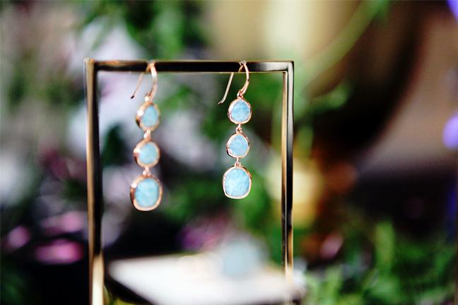 Capri Rose Gold Earrings