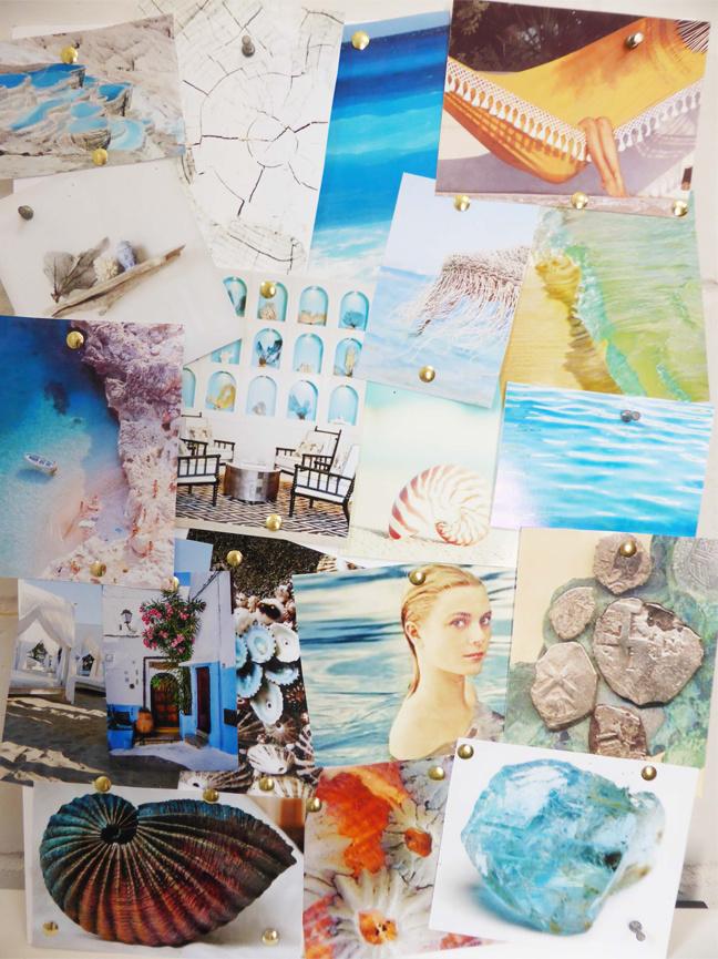 Capri Jewellery Collection Moodboard