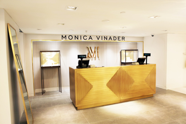 Monica Vinader at Harrods