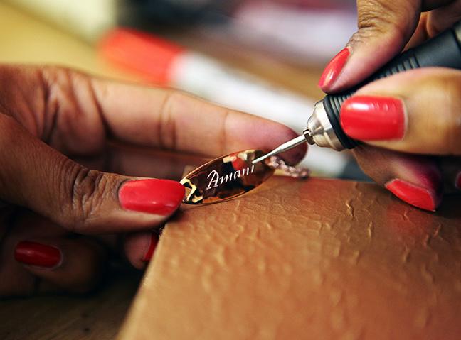 Engraved Friendship Bracelet by Monica Vinader