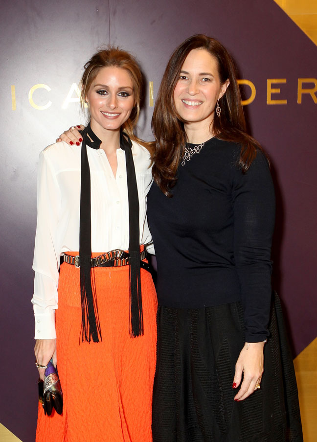 Olivia Palermo and Monica Vinader