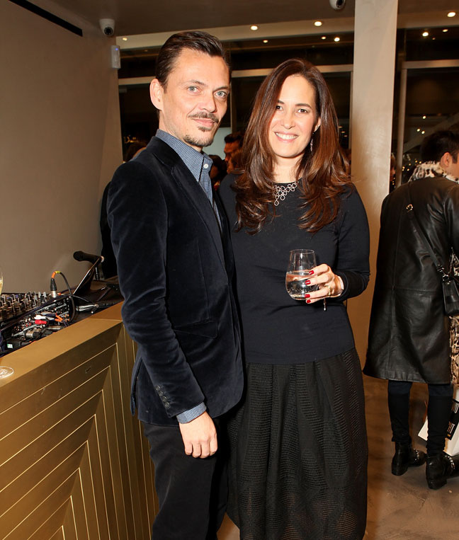 Matthew Williamson and Monica Vinader