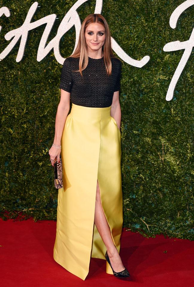 Olivia Palermo British Fashion Awards