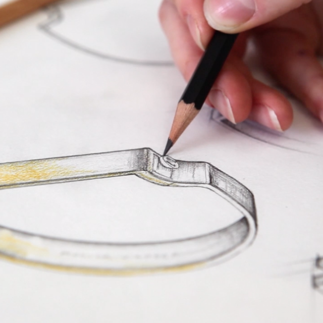 Signature Bangle Inspiration - Sketching