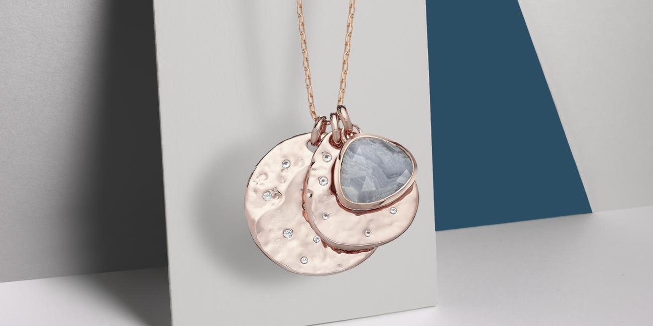 Siren Scatter pendants and chain - gift idea for Mother's Day