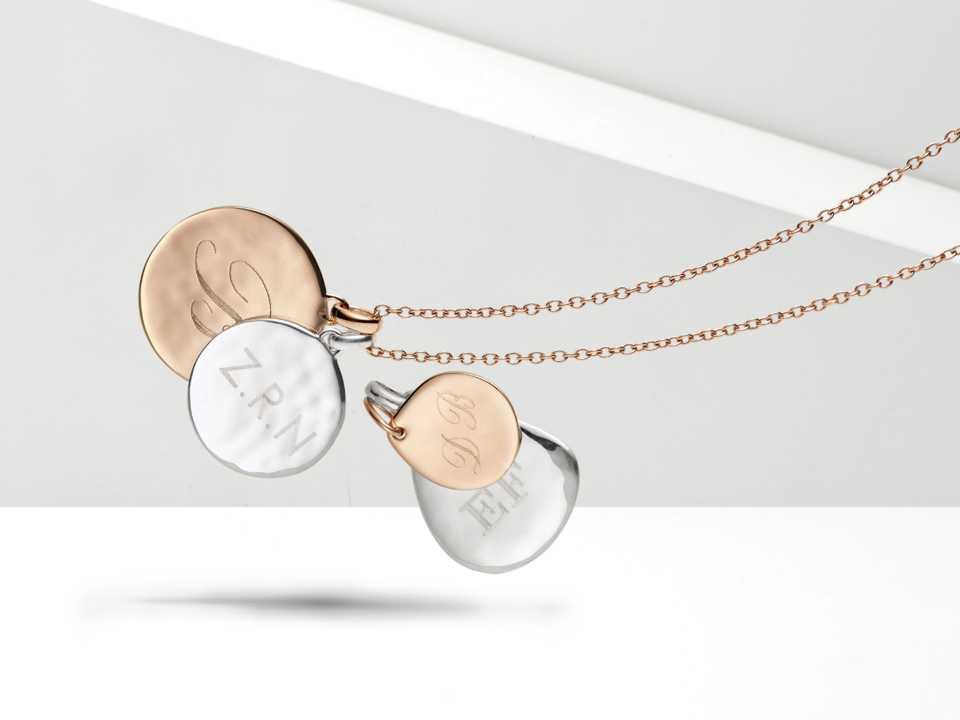 Engraved Siren pendants