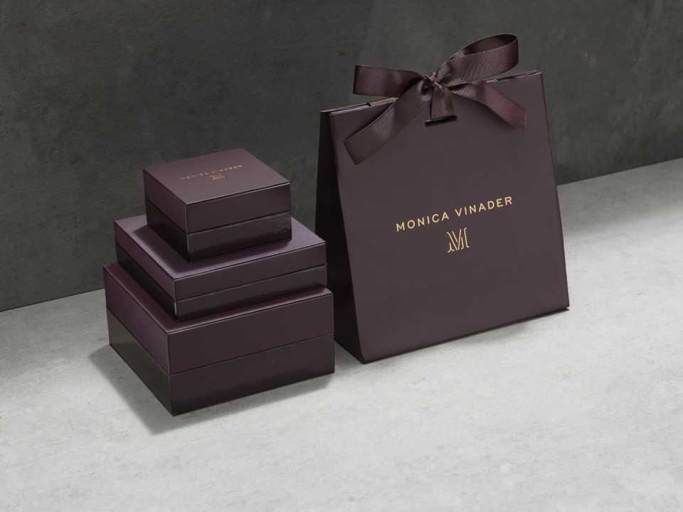 Monica Vinader gift packaging