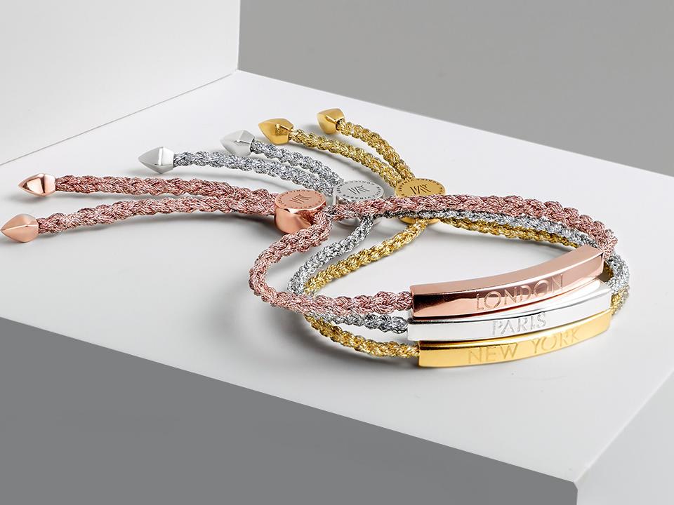 Engraved friendship bracelets