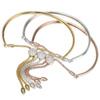 Rose Gold Vermeil Fiji Diamond Toggle Bracelet - Diamond - Monica Vinader
