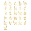 Gold Vermeil Alphabet Pendant Q - Monica Vinader