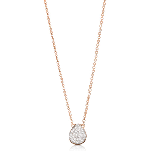 Rose Gold Vermeil Alma Diamond Necklace