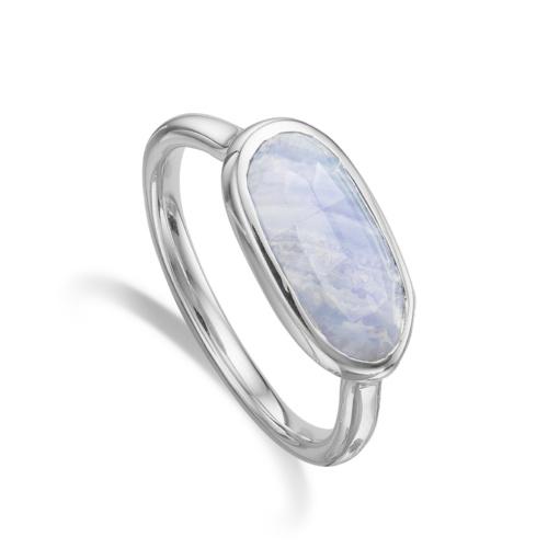 Vega Ring - Blue Lace Agate