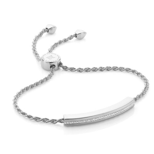 Linear Chain Bracelet - Diamond