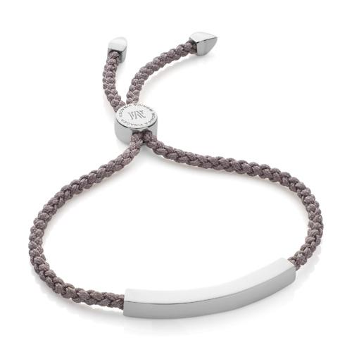 Linear Friendship Bracelet - Mink Cord