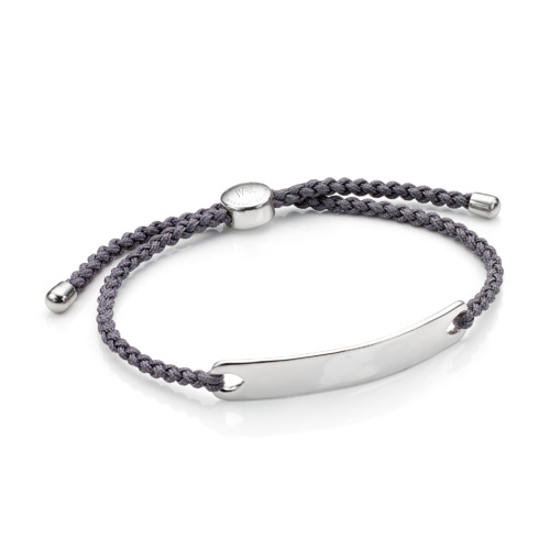 Havana Men's Friendship Bracelet - Steel Grey