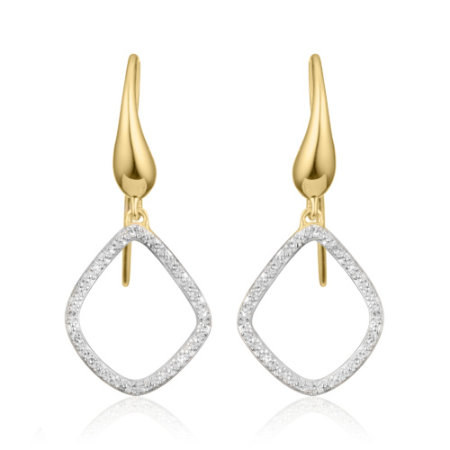 Gold Vermeil Riva Kite earrings