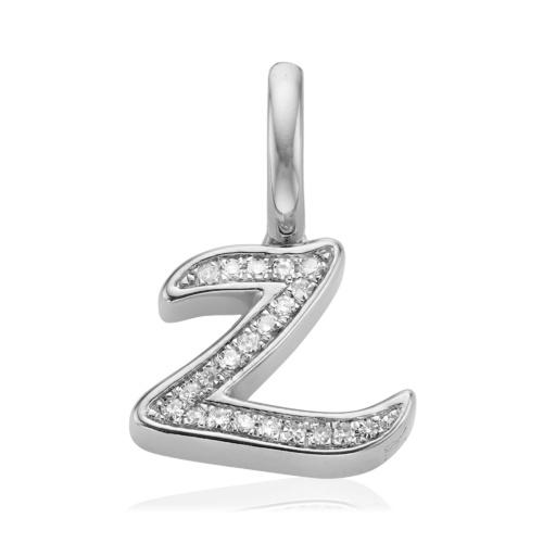 Diamond Alphabet Z