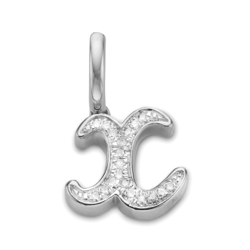 Diamond Alphabet X