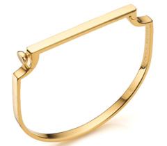 Gold Vermeil Signature Thin Bangle