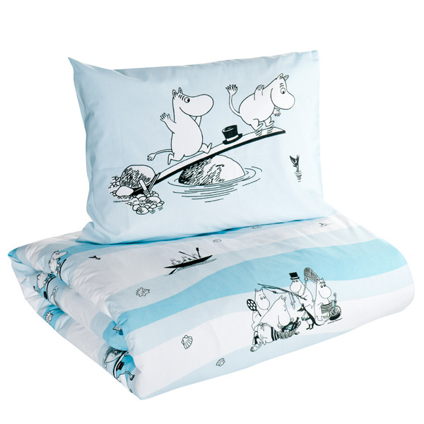 Sea Moomin duvet cover set