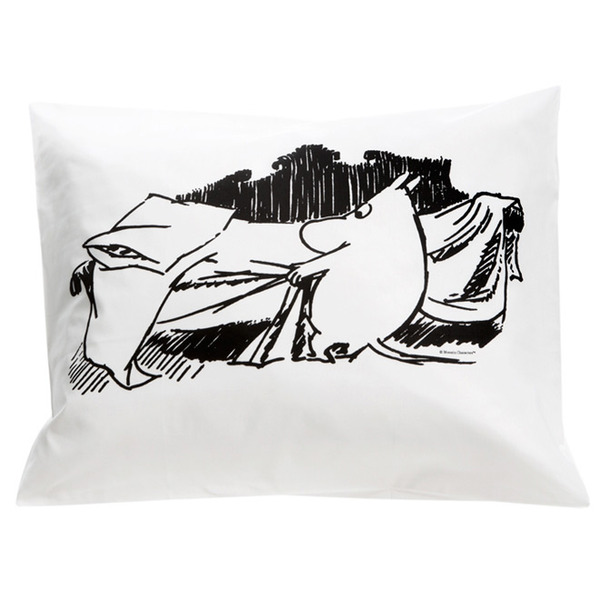 Moomin bedding pillow cover