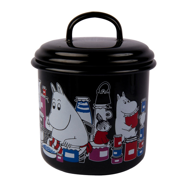 Moomin jar 1 l black