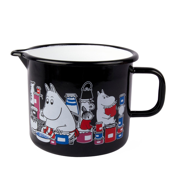 Moomin Pitcher 1,3 l black