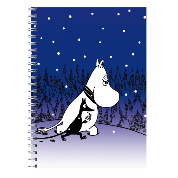 Soft Cover Notebook Moomin and Sniff