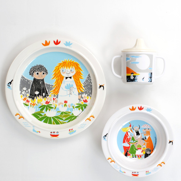 Who will comfort Toffle? - tableware set
