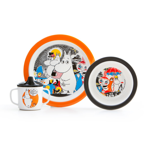 Moomin comics - tableware set