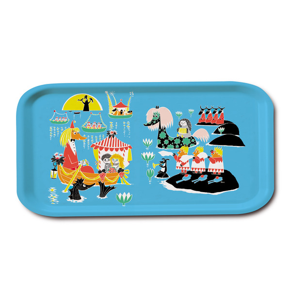 Moomin Wedding tray 53 x 32 cm