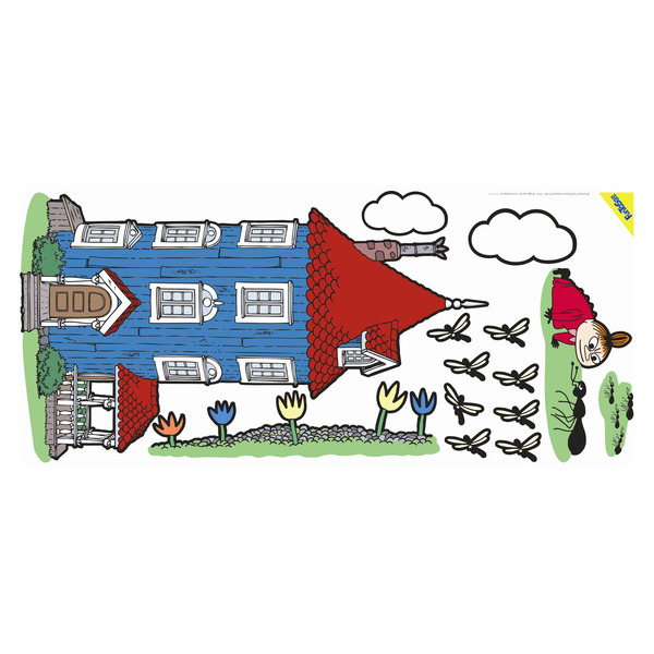824878110018 the official moomin shop moomin wall sticker 1 tove