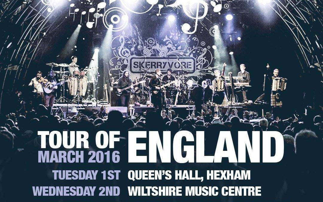 Skerryvore Tour of England