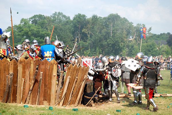 Azincourt 1415 reenactment.jpg