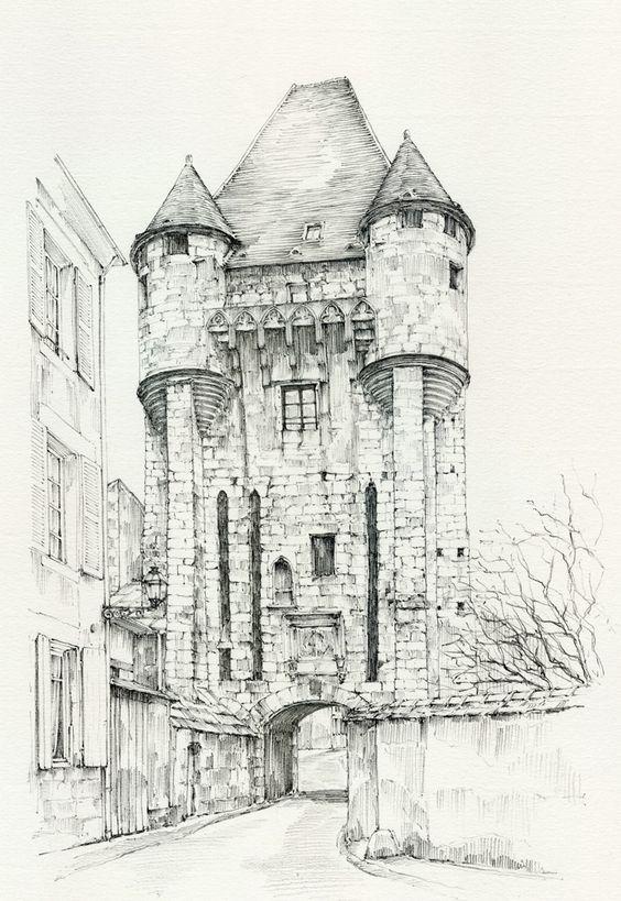 Linda Vanysacker - Van den Mooter Porte du Croux anno 1900, Nevers, Nièvre, France.jpg