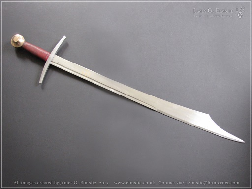 Or The Crazy Looking Elmslie Type 2 Falchion Cutting Edge Is On Inward Part Opposite To A Normal