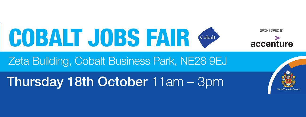 Cobalt Jobs Fair sponsored by Accenture